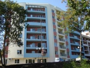 Holiday complex with luxury apartments in Golden Sands resort