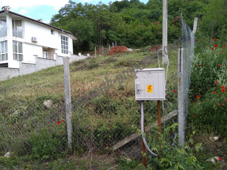 Plot with sea views in the villa zone