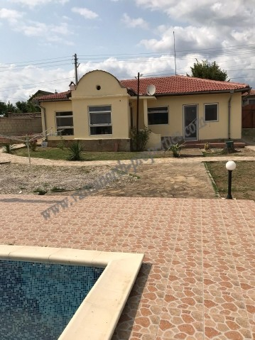 Furnished house in a village, 6 km from the sea
