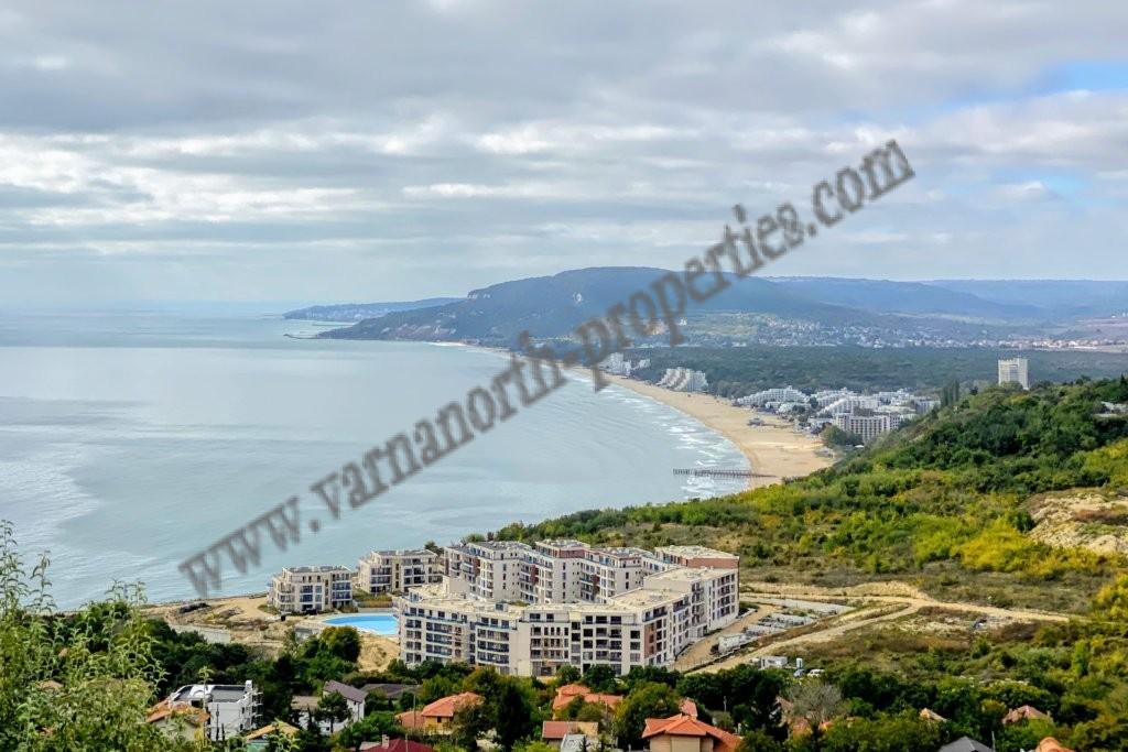 Plot on the coast with sea views